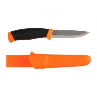 Нож Morakniv Companion F Orange нержавеющая сталь купить в Минске, доставка, официальная гарантия - TURZONA.BY